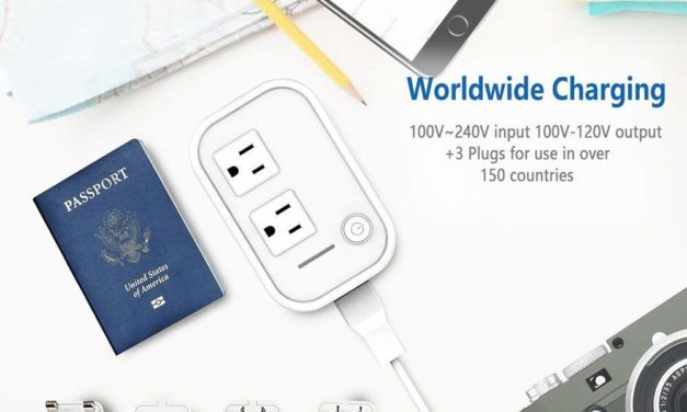 International Travel Adapter Helps North American Devices Worldwide