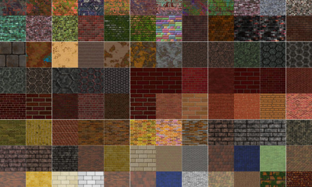 144 New Seamless Bricks in the Wall